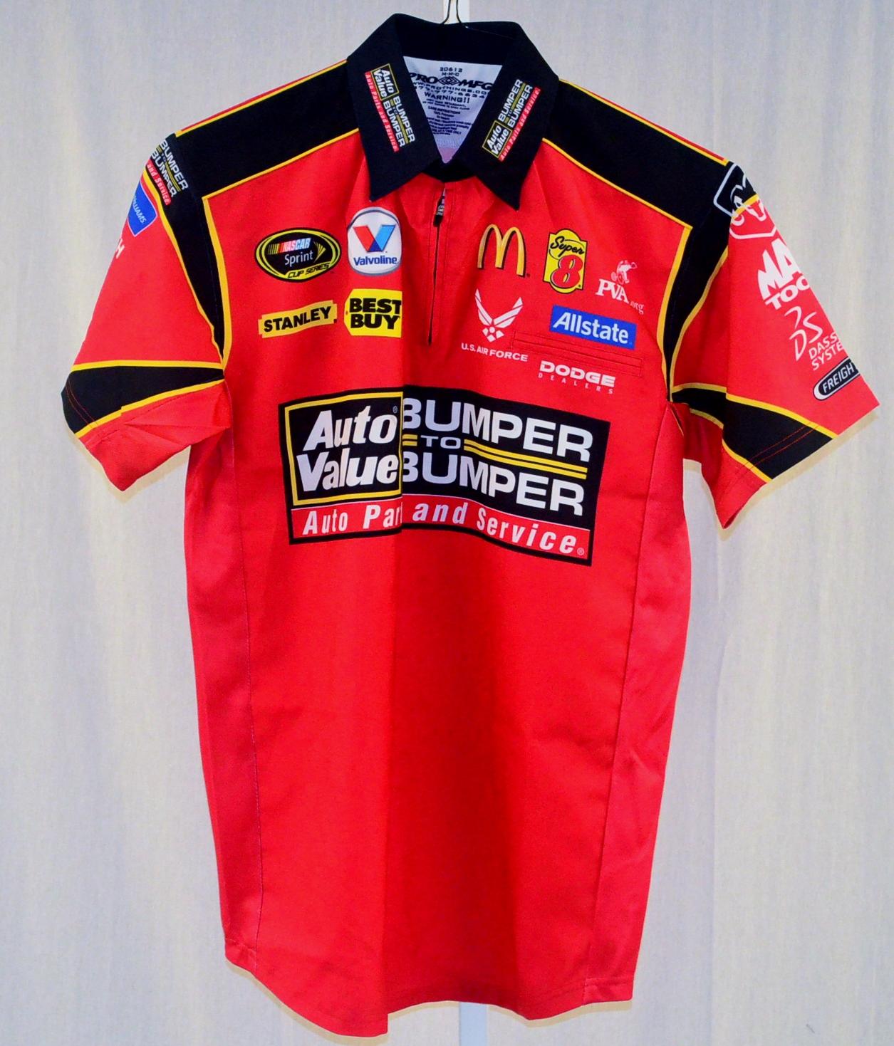 Nascar Pit Crew Shirts >> Kasey Kahne Auto Value Evernham Race Used NASCAR Pit Crew ...