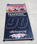 Robert Yates Racing RARE NASCAR Shop Winning Banners 4