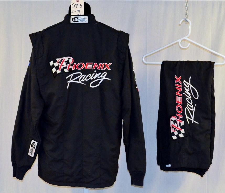 Racing Fire Suits >> Simpson Sfi 5 3pc Nascar Nomex Racing Fire Suit 5945 C44 W34