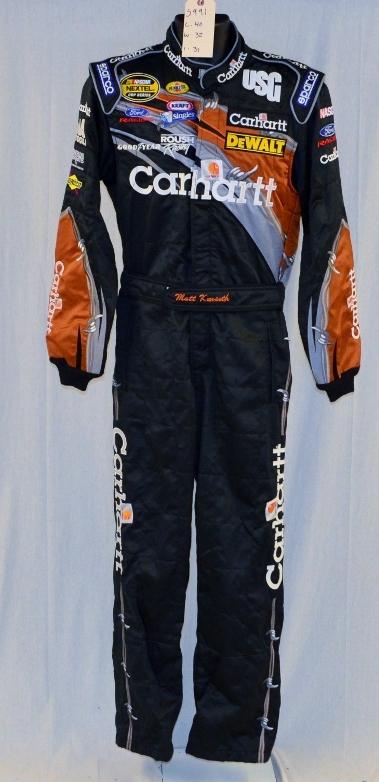 Racing Fire Suits >> Matt Kenseth Carhartt Sparco Sfi 5 Nascar Driver Suit Fire Suit Coolest Ever 5991 C40 W32 I31