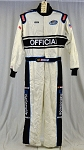 Simpson SFI-5 NASCAR Officials Race Used NOMEX Fire Suit #6095 c46/w36/i29