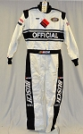 Simpson SFI-5 Busch Series NASCAR Officials NOMEX Fire Suit NEW WITH TAGS! #6110 c48/w36/i29