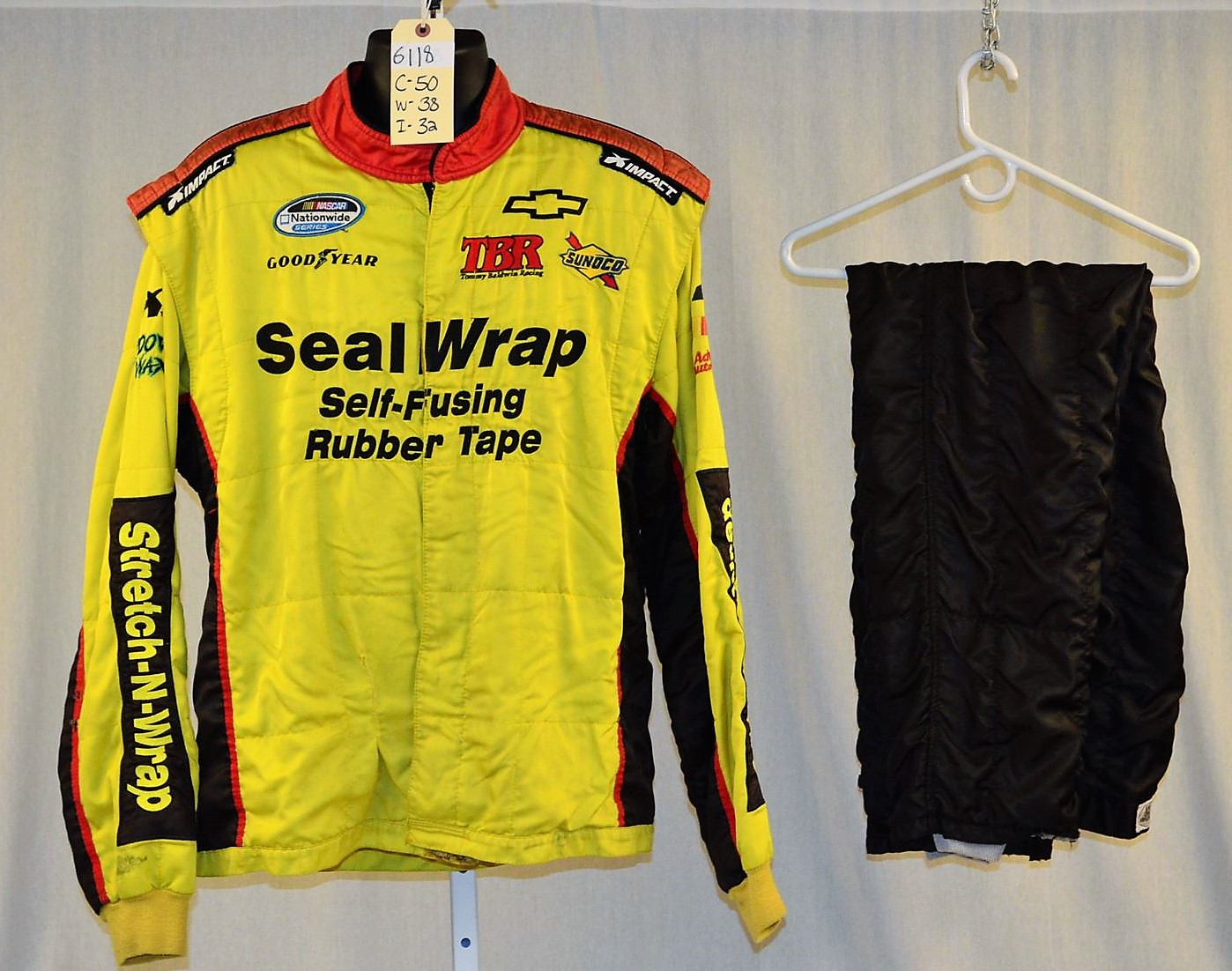 Racing Fire Suits >> Impact Nascar Seal Wrap Sfi 5 Racing Fire Suit 6118 C50 W38 I32