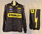 Stanley Richard Petty Motorsports Race Used Sparco SFI-5 Fire Suit #6121 c46/w38/i32