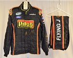 Sparco SFI-5 Pilot Flying J Race Used NASCAR Fire Suit #6122 c50/w40/i32