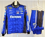 Roush Racing Fastenal Sparco SFI-5 NASCAR Race Used Firesuit #6126 c48/w38/i34