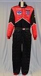 Andy Lally SIGNED IMSA STAND 21 Race Used Driver Firesuit FIA Rated. #6139 c40/w32/i33