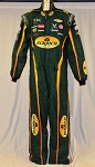 2018 Bubba Wallace MONSTER Eckrich Richard Petty Sparco Pit Crew Firesuit #6140 c46/w40/i32