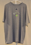 Ty Dillon Geico Germain Racing Gray Adidas Team issue NASCAR T-shirt. SIZE 2XL