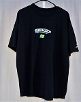 Ty Dillon Geico Germain Racing Race Used T-shirt. Green #13. SIZE 2XL