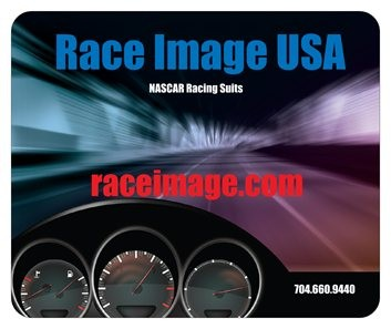 Race Image USA Mouse Pad