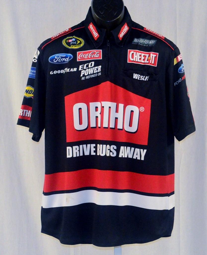 Pit Crew Shirts >> 2015 Greg Biffle Ortho Race Used Nascar Pit Crew Shirt