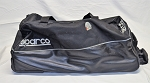 RCR Childress Sparco Large Team Issue NASCAR Roller Duffle Gear Bag.
