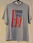 RCR Race Used Team Issue Family Day 2014 NASCAR T-shirt. SIZE XL