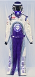 Mike Bliss Advair Race USED NASCAR DRIVER SUIT and HELMET. WOW!