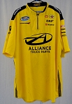 1f8bc8df Sam Hornish Alliance Penske Race Used NASCAR Pit Crew Shirt-3XL