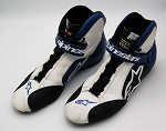 Aric Almirola Richard Petty Race Used NASCAR Driver Shoes #1. SIGNED. SIZE 12