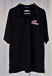 NASCAR Athenian Motorsports Used Team Issued Polo Shirt. SIZE XL