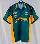 Team Australia Motorsports Aussie Vineyards Indy Race Used Pit Crew Shirt V1 XL