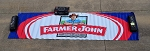 Bubba Wallace Richard Petty Farmer John Race Used NASCAR Pit Banner