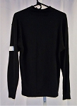 Black SFI Nomex Long Sleeve Top. SIZE LARGE