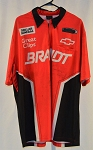Justin Allgaier Brandt Race Used NASCAR Pit Crew Shirt. SIZE XL