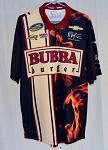 Landon Cassill Bubba Burger Race Used NASCAR Pit Crew Shirt