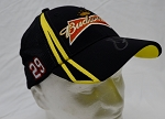 Kevin Harvick Budweiser Autographed Team Hat. RCR.