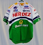 2001 FedEx CART FORD Race Used Corona Pit Crew Shirt. Herdez Pegaso XL