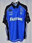 Ricky Stenhouse Fastenal 50th Anniv. Monster Race Used Pit Crew Shirt. SIZE XL