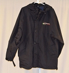 Fernandez Racing Team Issued Race Used Indy All-Weather Coat. SIZE LARGE