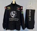 Terry Labonte C&J Energy Simpson Race Used NASCAR Racing Suit #4381 54/38/34