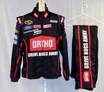 Greg Biffle Ortho Simpson SFI5 Race Used NASCAR Fire suit #4678 44/36/38