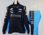 Jeb Burton Richard Petty Motorsports Sparco SFI-5 Race Used NASCAR Fire Suit #5190 52/38/28