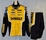 Richard Petty Motorsports Dewalt Sparco SFI-5 Race Used NASCAR Fire Suit #5216 48/40/32