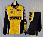 Richard Petty Motorsports Dewalt Sparco SFI-5 Race Used NASCAR Fire Suit #5217 50/42/32