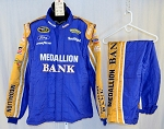 Richard Petty Motorsports Medallion Bank Sparco SFI-5 NASCAR Race Used Fire Suit #5219 50/40/33