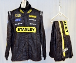 Richard Petty Motorsports Stanley Sparco SFI-5 Race Used NASCAR Racing Suit #5221 46/38/32