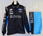 Jeb Burton Richard Petty Motorsports Sparco SFI-5 Race Used NASCAR Fire Suit #5228 50/40/31