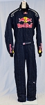 Red Bull PUMA SFI-5 NASCAR DRIVER SUIT worn by Tim Fedewa #5252 48/36/33