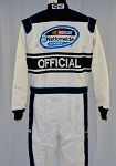 Simpson NASCAR OFFICIAL NOMEX SFI-5 Rated Firesuit Race Suit. NEW! #5260 46/36/31