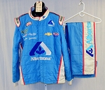 Albertsons Sparco SFI-5 Race Used NASCAR Fire suit #5287 48/40/32