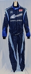 Barracuda B&W Indy Car Racing Fire Suit. FIA RATED. #5300 42/34/31