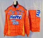Hefty Impact Odor Block SFI-5 NASCAR Racing Fire Suit #5344 56/38/31