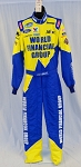 Carl Edwards World Financial Simpson SFI-5 NASCAR DRIVER Firesuit. NEW! #5346 42/32/32