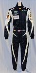 Brian Sellers Porsche OMP One Evo Race Used Roxed Driver Fire Suit #5368 40/30/30