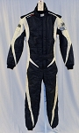 OMP One Evo Race Used Brian Sellers Rolex Driver Race Suit. SFI AND FIA Rated #5369 40/32/30