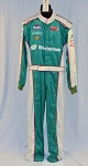 Impact SFI-5 Westerman NOMEX Race Used NASCAR Fire Suit #5381 48/36/32