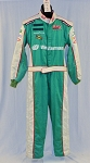 Impact SFI-5 Westerman NOMEX Race Used NASCAR Fire Suit #5383 46/40/28