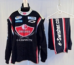 Swisher Sweets SFI-1 SINGLE LAYER Race Used NASCAR Fire Suit #5389 60/48/31